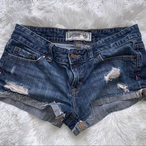 PINK! Victoria's Secret Denim Shorts Sz 4